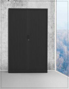 Rolluikkast - zwart - H 198 cm