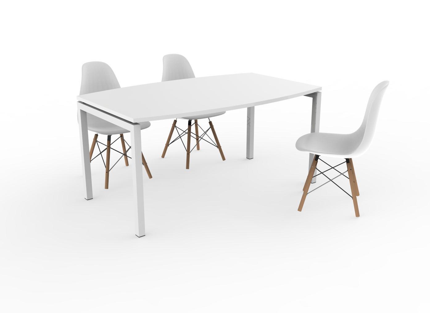 Tonvorm vergadertafel