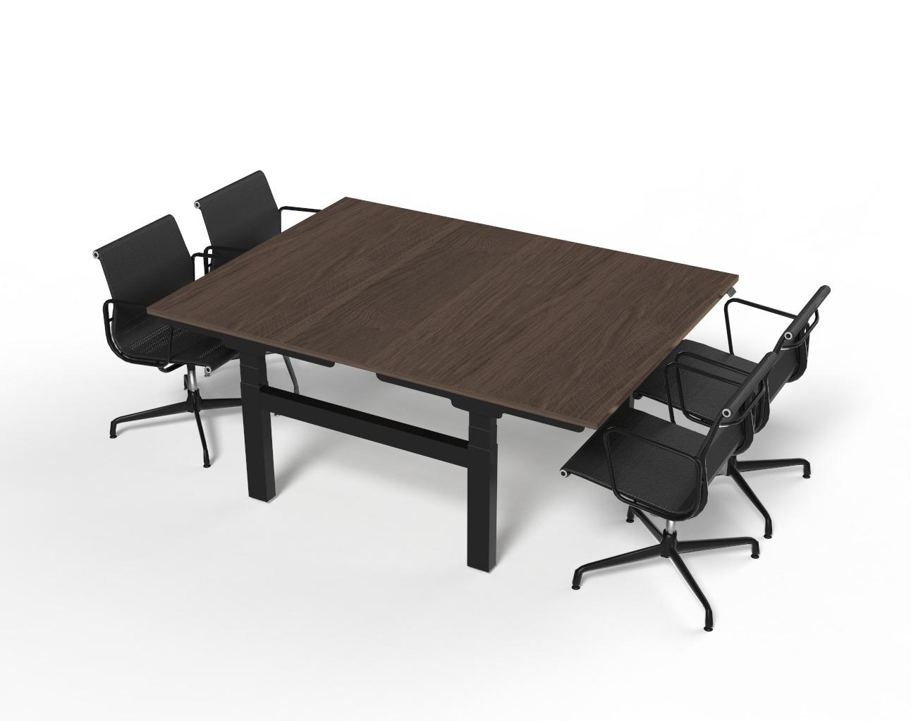 Zit-sta vergadertafel